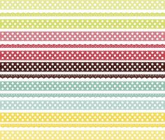 Colorful Laces Background Free Vector
