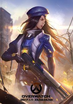 Overwatch Ana Amari