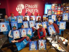 Find a wine and painting event at Pinot's Palette in Alameda for a unique, fun night out or private event venue! Book your painting class today!