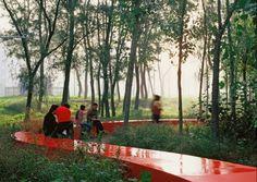 red ribbon park shanghai