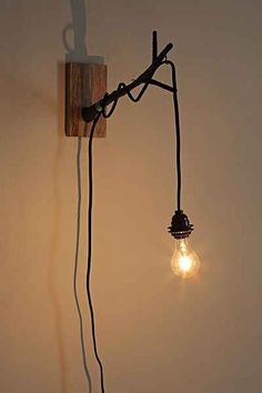 Magical Thinking Into The Woods Wall Sconce Urban Outfitters
