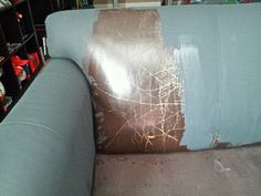 Shades of Amber: ASCP Leather Sofa