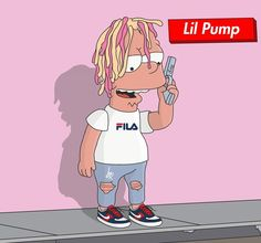 "143 Likes, 2 Comments - @teorainini on Instagram: ""L I L P U M P  @lilpump…"""