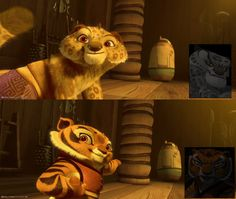 which young characters is the cutest? Tai Lung from the top? or Tigress from the bottom? MAKE YOUR COMMENT