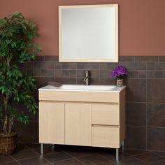 """40"""" Lahoma Vanity with Mirror - Bathroom Vanities - Bathroom"""