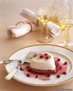 Coeurs a la Creme - Martha Stewart Recipes