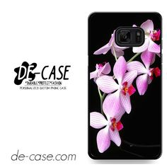 Beautiful Orchid Flower DEAL-1667 Samsung Phonecase Cover For Samsung Galaxy Note 7