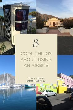 3 Cool things about using an Airbnb and a few random tips and secrets. #Airbnb #CapeTown #SouthAfrica #WesternCape #tourism #TableMountain #funicular #Franschoek #BoKaap #HoutBay #FishHoek Bucket List Destinations, Amazing Destinations, Travel Destinations, Travel Goals, Travel Tips, Great Places, Beautiful Places, Travel Around The World, Around The Worlds