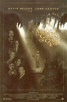 """Midnight in the Garden of Good and Evil """"is a 1997 American drama film directed by Clint Eastwood, and an adaptation of the book of the same name which was based on real-life events that took place in Savannah, Georgia in the 1980s. The film features Kevin Spacey as Jim Williams and John Cusack as John Kelso."""""""