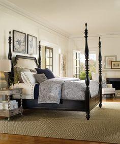 #Hooker_Furniture #Estate Poster Bed