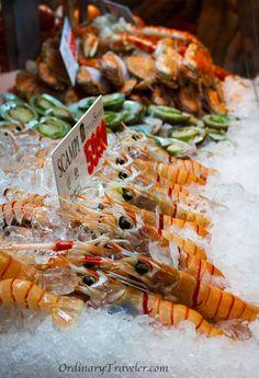 Beautiful scampi at Sydney Fish Market