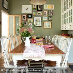 Farbe Grau, Grün, Braun   Wohnen Und Einrichten Mit Naturfarben | Pinterest  | Wandgestaltung, Wohnzimmer Und Büros