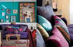 Inspiração: a casa toda colorida e linda da Nina Pandolfo - Casa e Cozinha