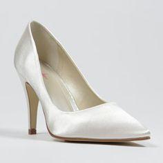 rainbow club vivian ivory  Wedding Shoes