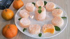 Μανταρίνι τουρκική απόλαυση - μια ασυνήθιστη συνταγή για σπιτικό επιδόρπιο Jelly Desserts, Coconut Desserts, Healthy Desserts, Chef Recipes, Candy Recipes, Dessert Recipes, Russian Desserts, Baked Oatmeal Cups, Arabic Sweets