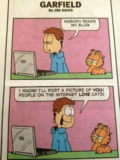 Garfield brings John into the times...