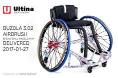 Basketball wheelchair Ultina Airbrush