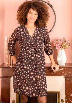 Robe imprimé léopard noir et rose pâle Shirt Dress, Shirts, Vintage, Dresses, Style, Fashion, Pale Pink, Fashion Now, Vestidos