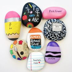 35+ Incredible And Cute Painted Rock Crafts Design Ideas – Small Flash
