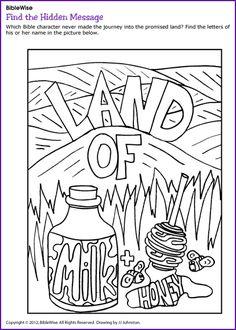 Maze Journey Through Wilderness Moses Kids Korner BibleWise