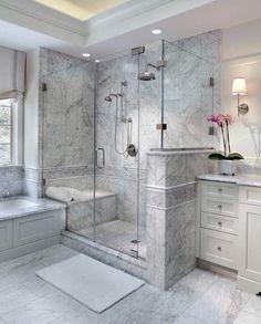 Top 60 Beste Master Bad Ideen – Home Interior Designs - Mann Stil Bathroom Layout, Bathroom Interior Design, Bathroom Ideas, Bathroom Organization, Budget Bathroom, Interior Ideas, Shower Ideas, Bathroom Storage, Bath Ideas