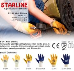 Everybody needs nitrile gloves either yellow or blue for almost all simple applications Protective Gloves, Yellow, Blue, Simple