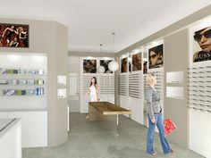 Optical store (4/4) A project I made in collaboration with and for Equipe S.r.l