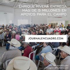 Revista Encuadre » Enrique Rivera entrega más de 5 millones en apoyos para el campo