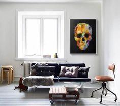 Skullart by @franciscovalle_art  #art #decor #love #skulls #skull #skullart #franciscovalle_art #interior #interiordesign #beautifulart #brasil #instadesign #picture #decoration #style #beautifulart #artstyle #design #architecture #brazil #living - Architecture and Home Decor - Bedroom - Bathroom - Kitchen And Living Room Interior Design Decorating Ideas - #architecture #design #interiordesign #homedesign #architect #architectural #homedecor #realestate #contemporaryart #inspiration…