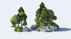 Low Poly Tree Pack - Asset Store