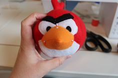 Tutorial for sewing an angry bird!