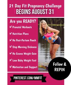 Lets Go Pregnant Ladies! Rally up all your Prego Friends and lets make sure to have a SUPER FIT & HEALTHY pregnancy. I will give you detailed pregnancy workouts, nutrition tips, healthy recipes, motivation and support. I will help you prevent excess weight gain, prevent the POSTPARTUM POOCH and have less aches & pains. Make sure to FOLLOW the board and repin. We start August 31st.