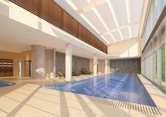 Unikalny basen z lekko zasoloną wodą / Unique Indoor Pool With Salty Water