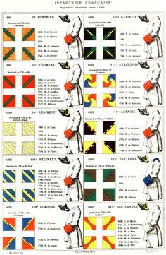 Praetiriti Fides, Exemplumque Futuri : Mouillard - Infanterie française                                                                                                                                                                                 Plus