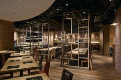 Nichigyu Japanese Hot Pot restaurant by STUDIO C8, Hong Kong » Retail Design Blog