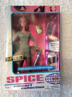 Spice girls dolls concert collection X 5 boxed dolls Spice Girls Dolls, Viva Forever, Deadpool Videos, Spice Things Up, Girl Power, Spices, Lunch Box, Cool Stuff, Concert