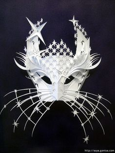 Cat mask by all things paper