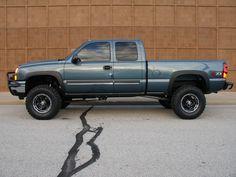 Chevrolet Silverado nicely Lifted Truck
