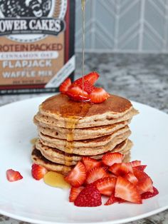 These light and fluffy Kodiak pancakes are packed with protein, easy to make, and kid approved! Breakfast is quite possibly my favorite…