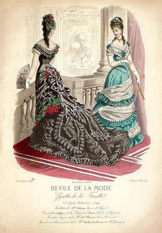 Revue De La Mode Jan 1876
