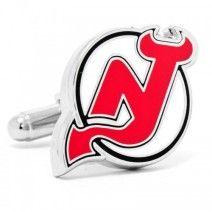 New Jersey Devils Cufflinks NHL Logo