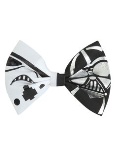 Star Wars Stormtrooper Darth Vader Hair Bow | Hot Topic
