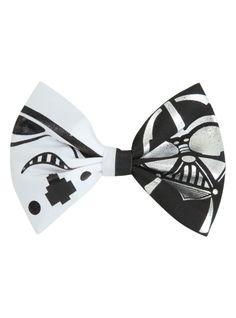 Star Wars Stormtrooper Darth Vader Hair Bow   Hot Topic