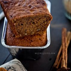 Piernik po żydowsku Gingerbread Cake, Spice Cookies, Quick Bread, Pound Cake, Banana Bread, Sweet Tooth, Sweet Treats, Spices, Yummy Food