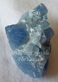 Blue Calcite Crystal is a strong healing and pain relieving stone. Use it to aid you to develop psychic gifts of clairvoyance, heightened intuition and prophecy. It boosts the flow of energy to the body to clear negativity, enhances creativity and aids dream recall.
