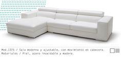 Mueble Interior Mod. 1375 #muebles #sillon #salas #minimalista