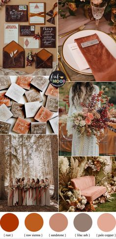 Orange Wedding Colors, Rustic Wedding Colors, Winter Wedding Colors, October Wedding Colors, Wedding In September, Autumn Wedding Ideas October, Fall Wedding Inspiration, Fall Wedding Themes, Mustard Wedding Colors
