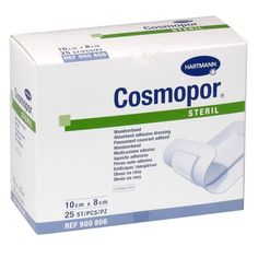 The flexible pad of Cosmopor Dressing is 100% cotton and it has round edges to prevent the dressing from becoming detached. It is mostly used for acute wounds like burns, leg ulcers, etc. Wound Care, Dressings, Burns, Flexibility, Self, Cotton, Adhesive, Back Walkover
