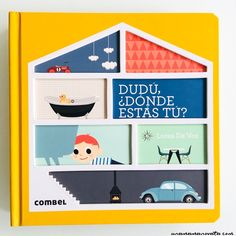"""""""Dudú, ¿dónde estás tú?"""", un libro-juego para buscar y aprender"""