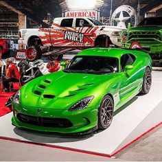 Venom green Dodge Viper